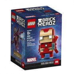 Iron Man MK50 Brick Headz