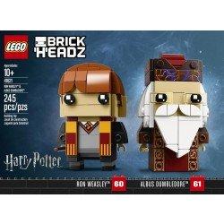 Ron Weasley  y Albus Dumbledore  Brick Headz