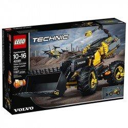 LEGO Juego de Construcción Technic Prototipo Volvo de Cargadora con Ruedas
