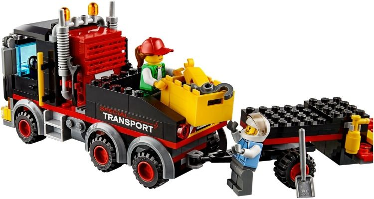 HEAVY CARGO TRANSPORT