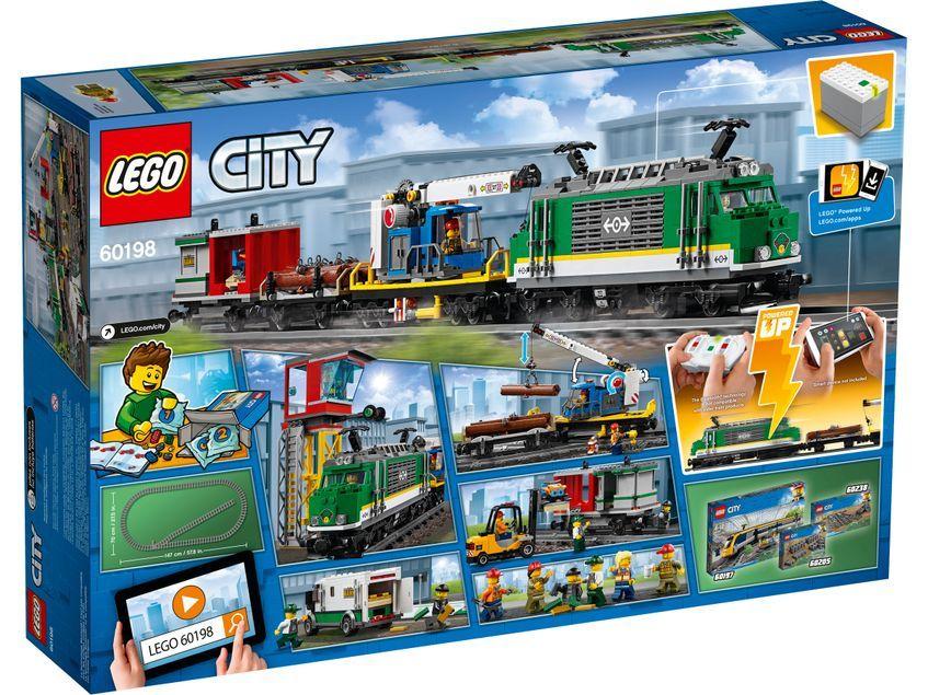 Tren de Mercancías LEGO® City (60198)
