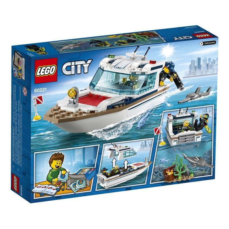 Lego 60221 Yate de Buceo