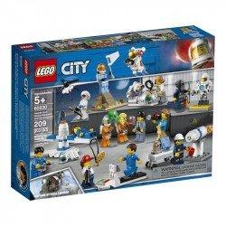 Lego 60230 Pack de Minifiguras: Investigación y Desarrollo Espacial