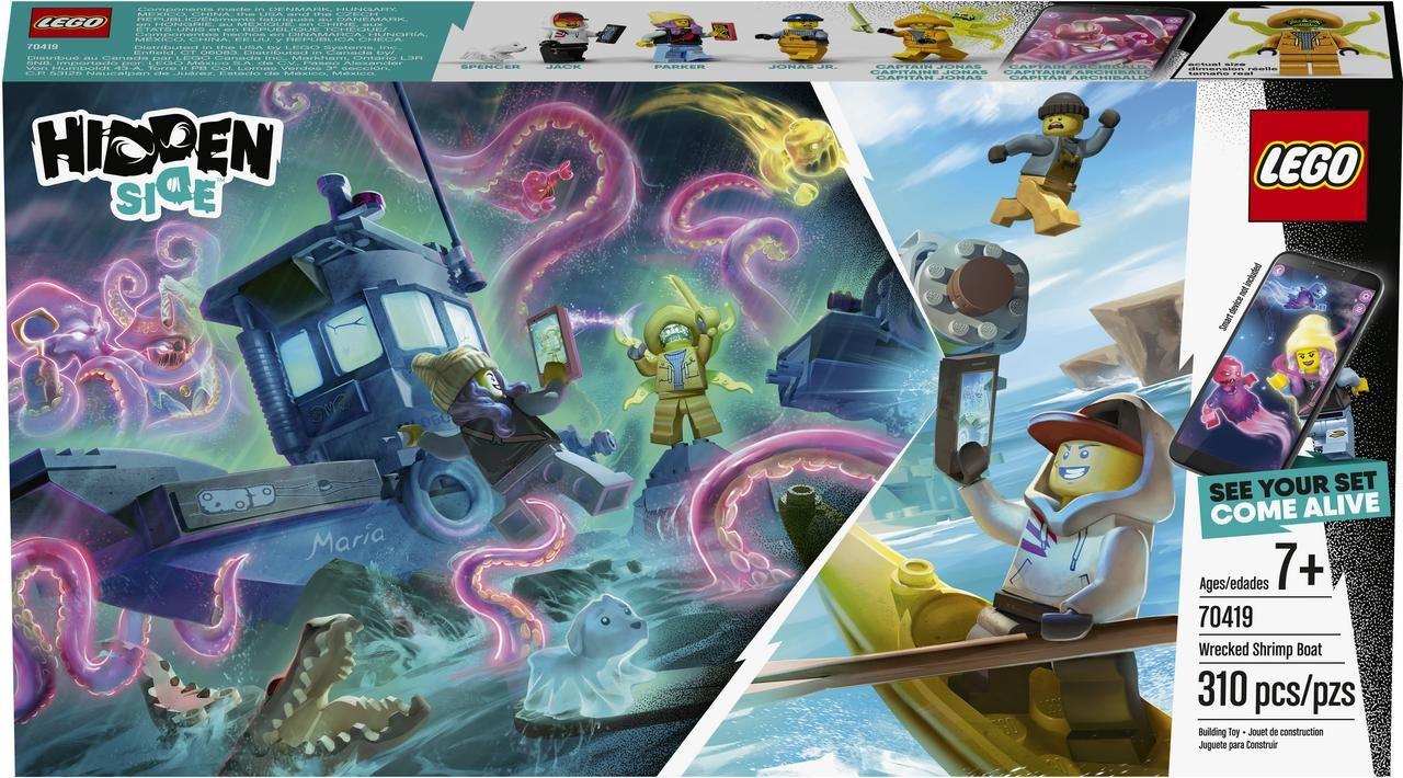 Lego 70419 El Naufragio del Barco Camaronero