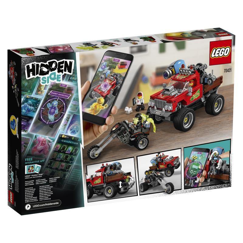 Lego  70421 Camión Acrobático de El Fuego