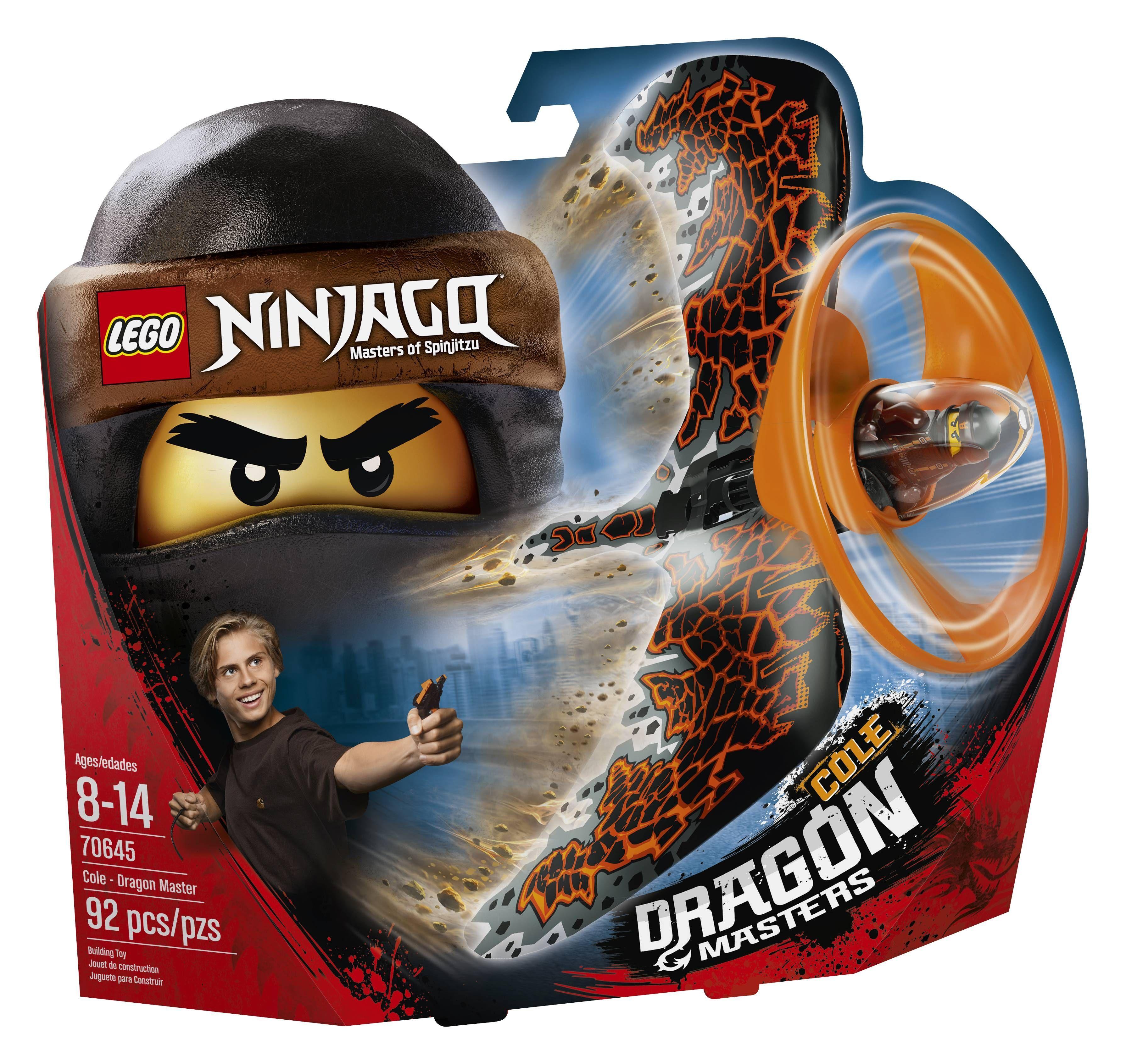 Cole: maestro del dragón
