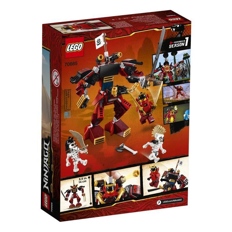 Lego 70665 Robot Samurái