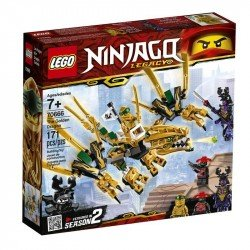 Lego 70666 Dragón Dorado