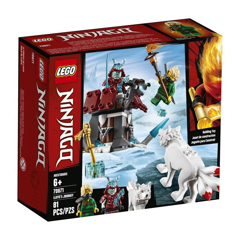 Lego 70671 Viaje de Lloyd