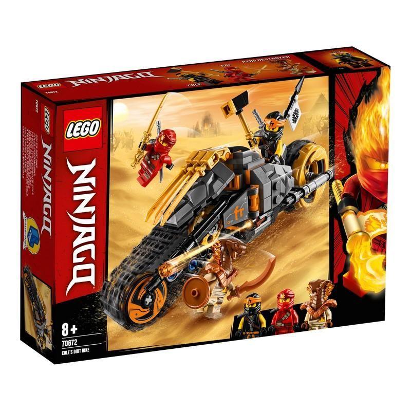Lego 70672 Moto Todoterreno de Cole