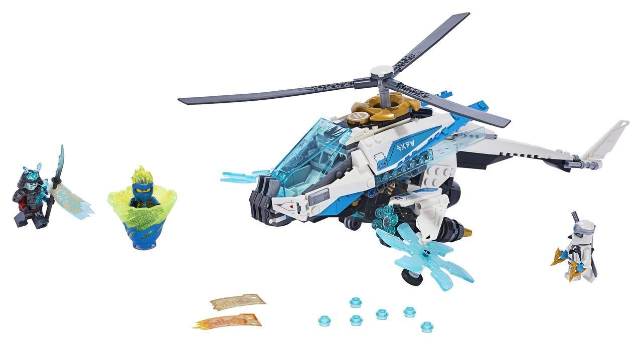 Lego 70673 Shuricóptero
