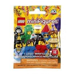 Mini figura LEGO 71021 18ª edición: Fiesta