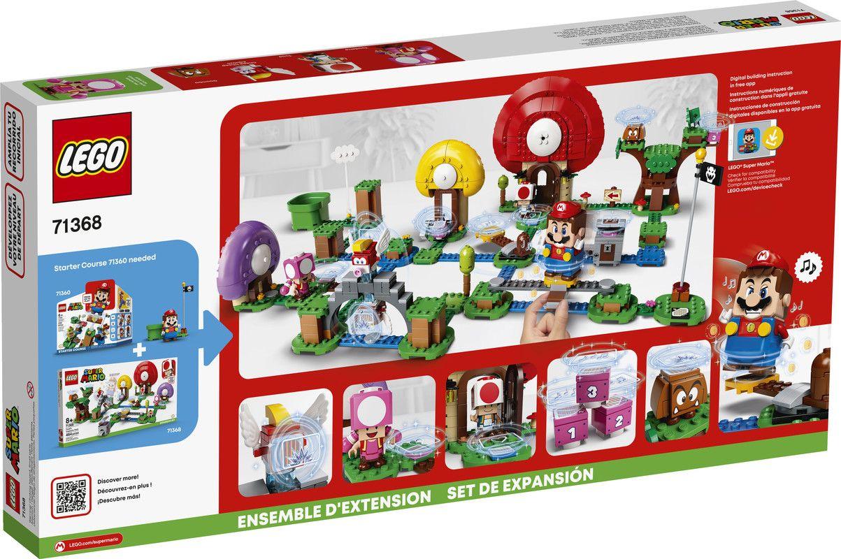 LEGO® Super Mario 71368 Set de Expansión: Caza del tesoro de Toad