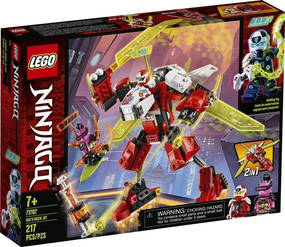 Lego 71707 Robot-Jet de Kai