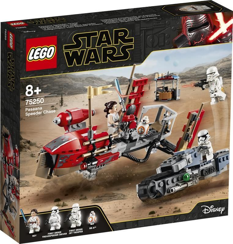 Lego 75250 Trepidante Persecución en Pasaana