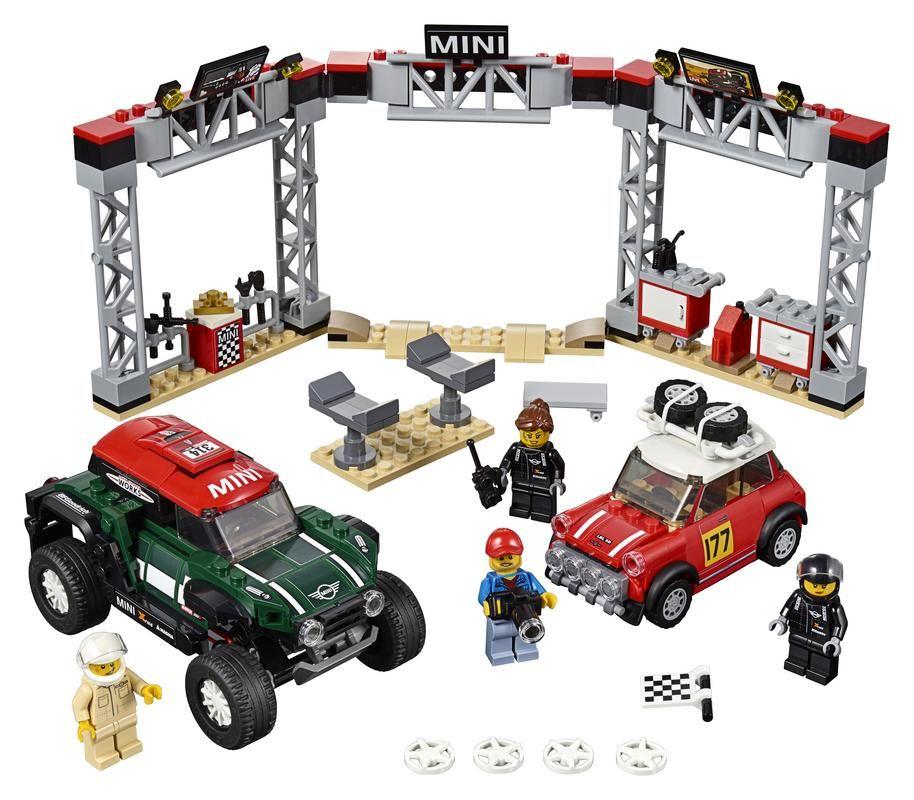 Mini Cooper S Rally de 1967 y MINI John Cooper Works Buggy de 2018
