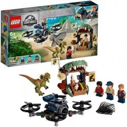 Lego 75934 Escape del Dilofosaurio