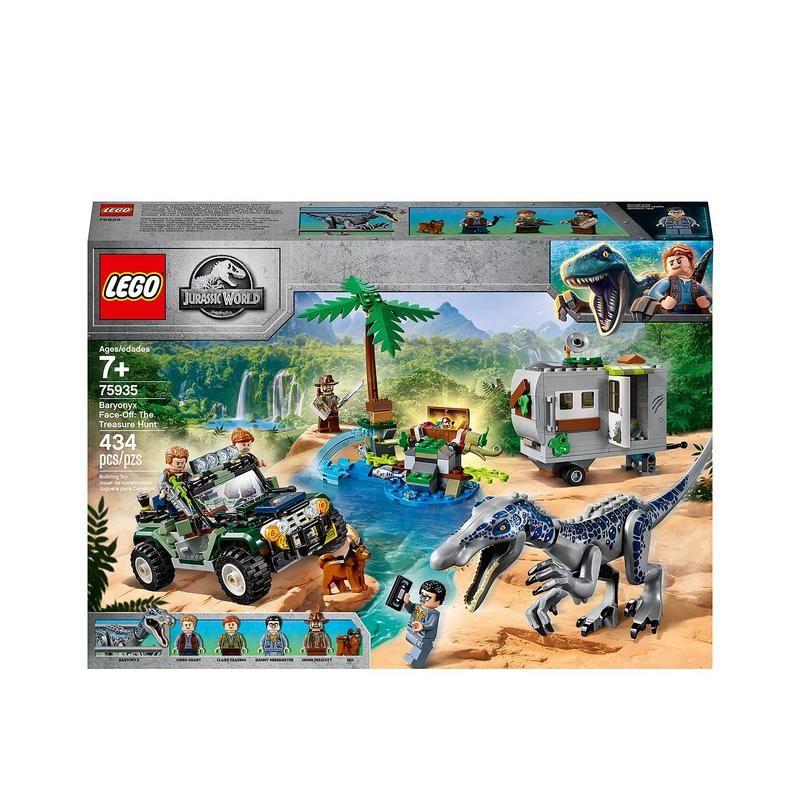 Lego 75935 Encuentro con el Baryonyx: La Búsqueda del Tesoro
