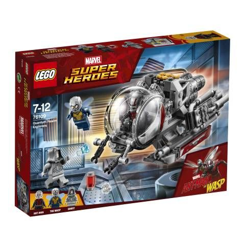 Lego 76109 Exploradores Del Reino Cuántico Juguetron