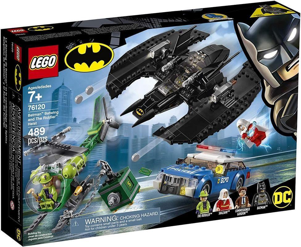 Lego 76120 Batiplano de Batman? y el Asalto del Acertijo