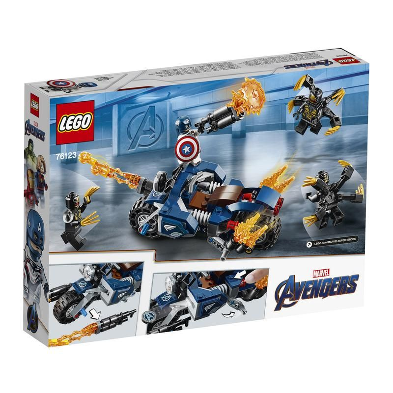 Capitán América: Ataque de los Outriders