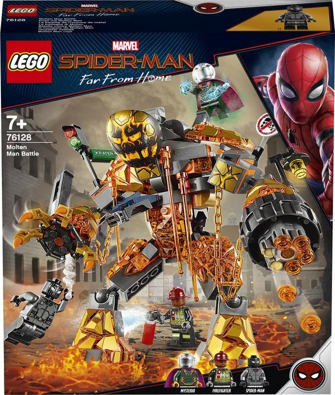Lego 76128 Batalla contra Molten Man