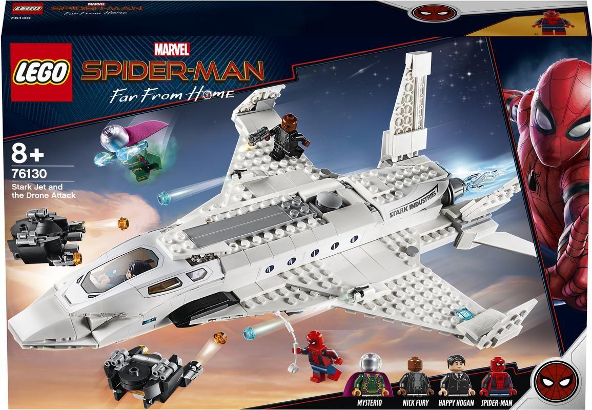 Lego 76130 Jet Stark y el Ataque del Dron