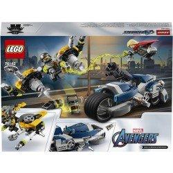 Lego 76142 Vengadores: Ataque en Moto