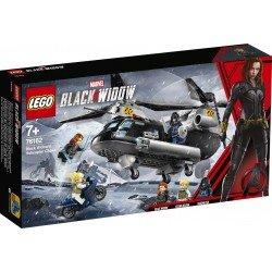 LEGO 76162 Persecución en Helicóptero de Viuda Negra