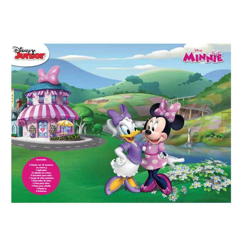 Estuche De Maquillaje Minnie Mouse