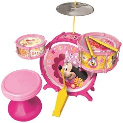 BATERIA MUSICAL MINNIE BOWTIQUE