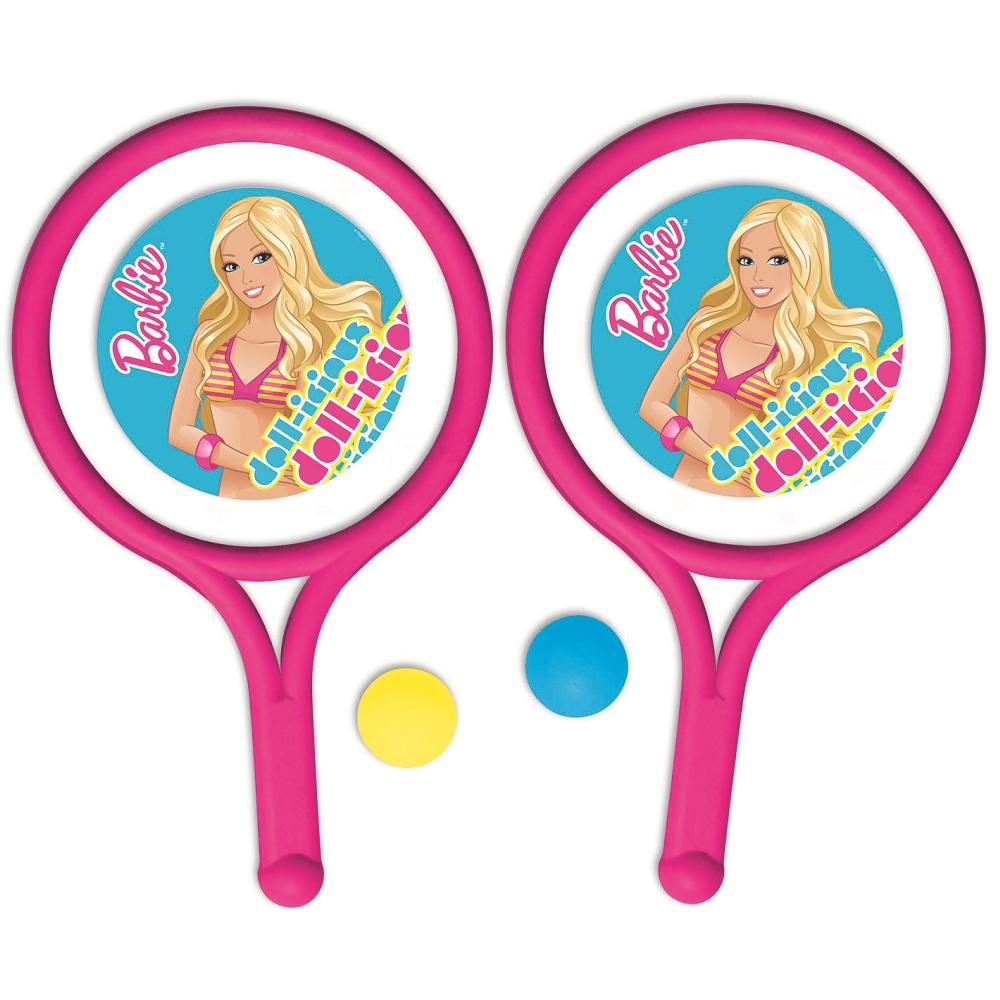 Juego De Raquetas Barbie Juguetron