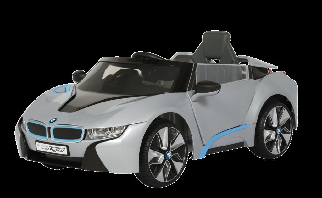 COCHE BMW I8  PLATA