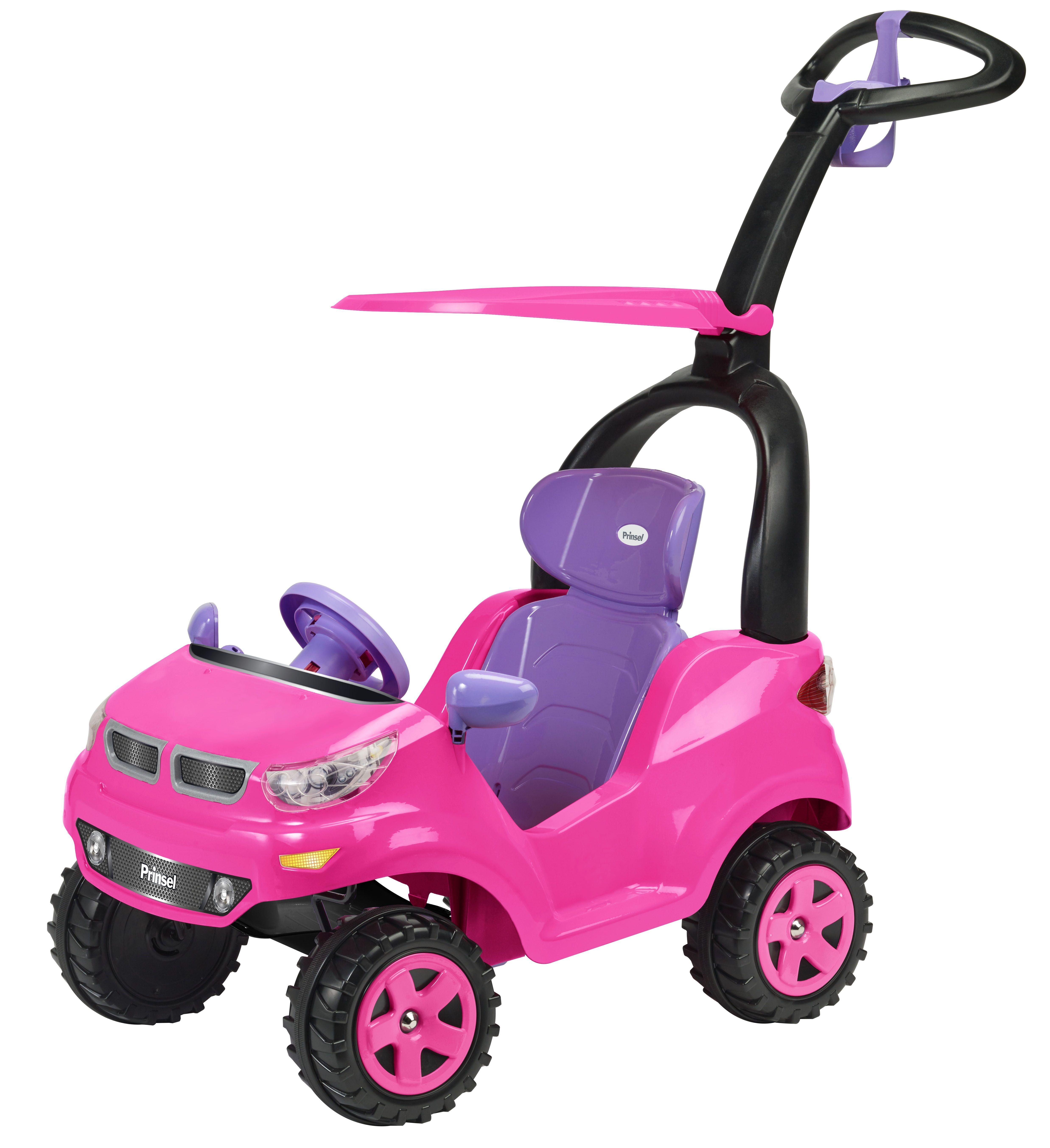 PUSH CAR ADVENTURE GIRL