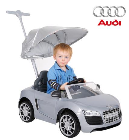 PUSH CAR AUDI PLATA