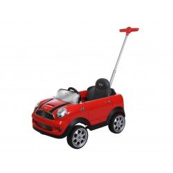 PUSH CAR MINI COOPER    ROJO