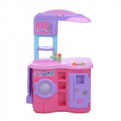 Montable Playset Cook'N Play Electronic Rosa Prinsel