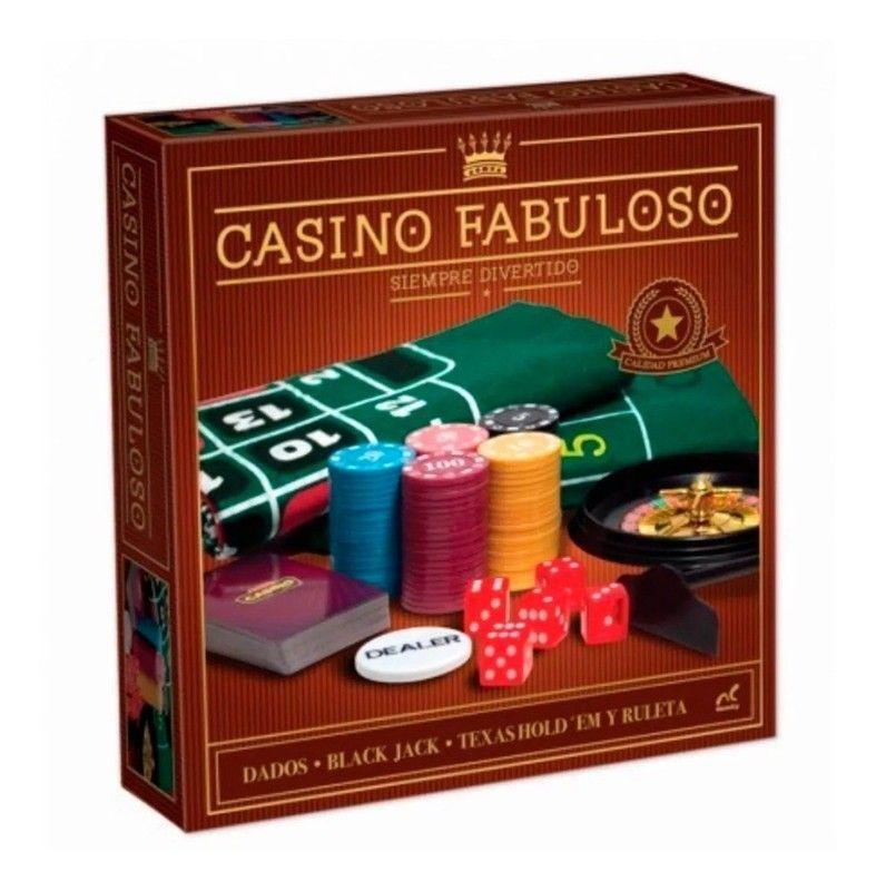 Juego de Mesa Casino Fabuloso Nocturno Novelty