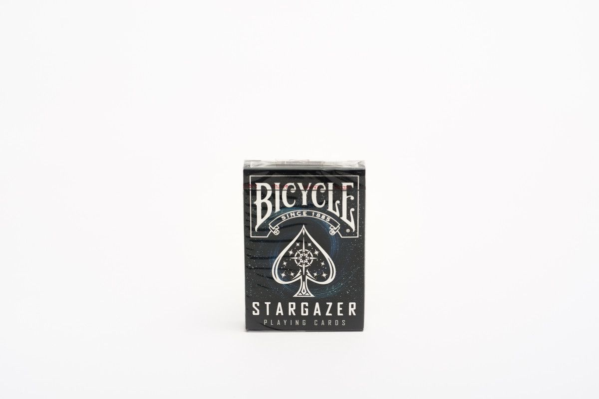 Baraja Poker Bicycle Stargazer Caja De Carton Novelty