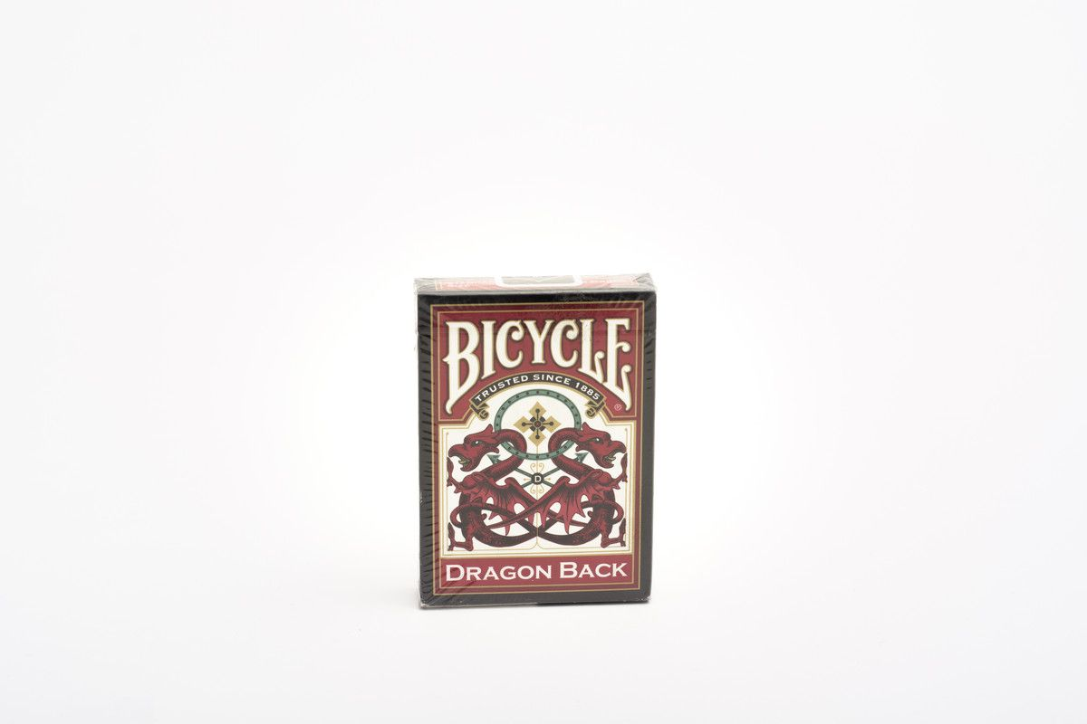 Baraja Poker Bicycle Dragon Novelty
