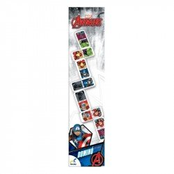 Domino mediano Avengers en caja