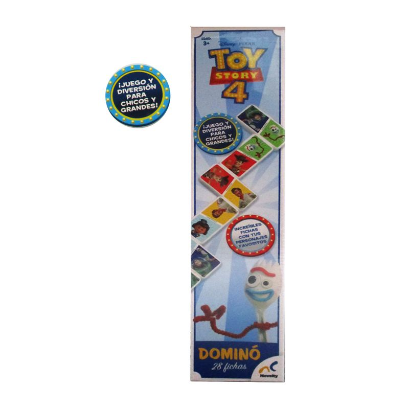 Domino Mediano Toy Story 4 Novelty