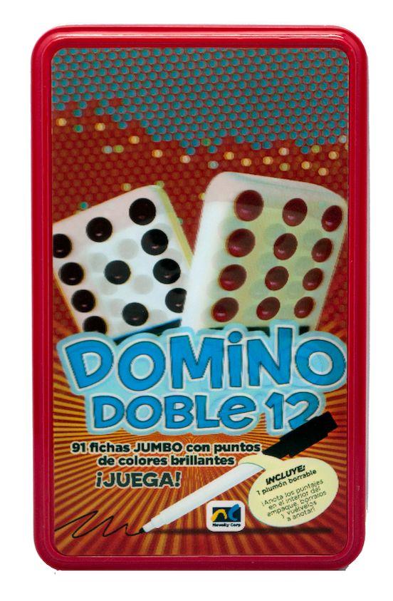 DOMINO DE COLORES DOBLE DOCE CAJA M