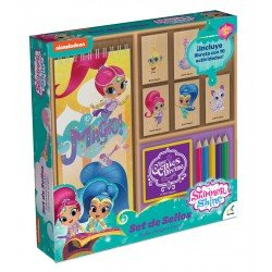 SET DE SELLOS SHIMMER AND SHINE