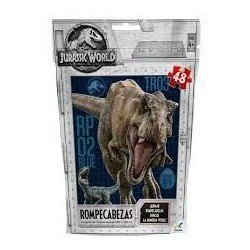 Rompecabezas bolsa foil Jurassic World