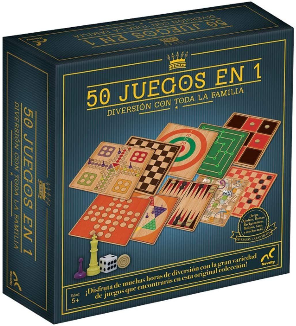 Juego de Mesa 50 Juegos En 1 Novelty