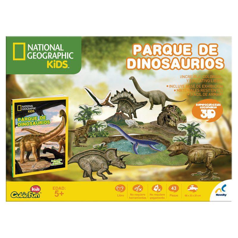 Rc 3d nat geo kids dinosaurios