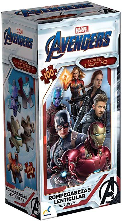 Rompecabezas Lenticular Torre Avengers Infinity War Ii