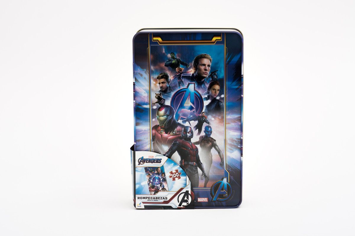 Rompecabezas Panoramico En Tin Avengers Infinity War Ii Novelty