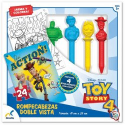Rompecabezas Doble Vista Toy Story 4